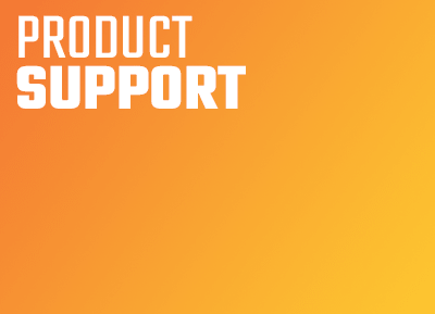 PRODUCT SUPPORT (ITALY AND BELGIUM)