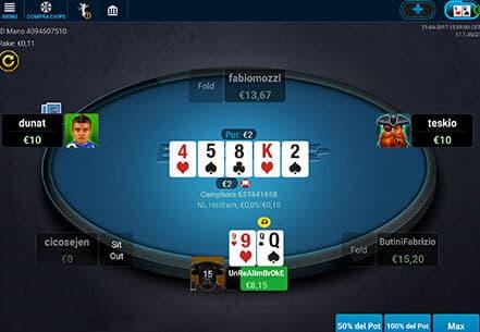 App poker eurobet