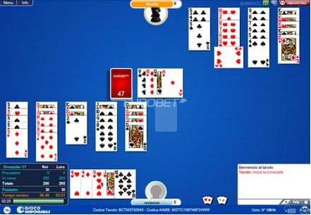 il gioco di burraco online