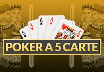 Poker a 5 Carte Cash